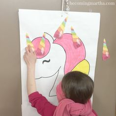 This fun rainbow and unicorn birthday party has tons of colorful ideas for your next party, including adorable printables and budget friendly party favors.