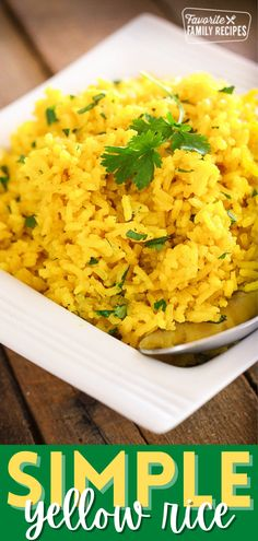 The possibilities for this rice recipe are endless! Mix and match any of these to create the perfect easy yellow rice side-dish for your next family meal. #yellowrice #sidedishrecipe #rice #ricesidedish #familymeal Rice Side Dishes, Best Side Dishes, Easy Family Meals, Family Recipes, Easy Meals, Vegetable Side Dishes, Vegetable Recipes, Yellow Rice Recipes, Grilled Carrots
