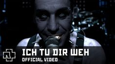Rammstein - Ich Tu Dir Weh (Official Video) This song and the accompanying video are both awesome. It was banned from airplay in Germany when it was first released. The subject matter is about S&M. The light in his mouth is not an effect. Til Lindeman actually had his cheek pierced to place a light inside his mouth when he sang. This song also introduced my wife to Rammstein and now she loves ALL of their songs. I think the group is one of the best metal bands around.
