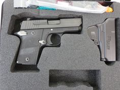 Used Sig Sauer P938 Nightmare 9mm w/ holster and case $649 - http://www.gungrove.com/used-sig-sauer-p938-nightmare-9mm-w-holster-and-case-649/
