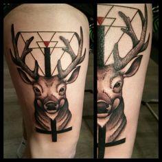 Tattoo cerf