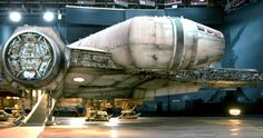 'Star Wars 7': Close-Up Look at the Millennium Falcon -- The Latest issue of Fortune Magazine features Disney CEO Bob Iger and the famous Millennium Falcon from 'Star Wars: The Force Awakens'. -- http://www.movieweb.com/star-wars-7-force-awakens-photos-millennium-falcon