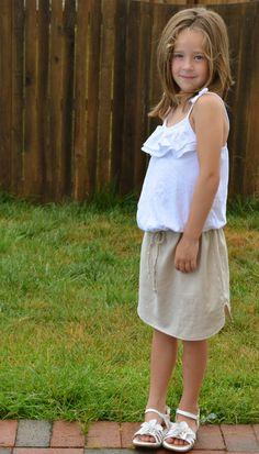 The Breezy Linen Skirt: A Tutorial
