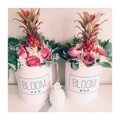 Hawaii inspired flowerbox. Flowerbox, cvijece u kutiji