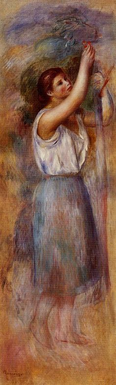 Study of a Woman - Pierre-Auguste Renoir