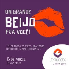 Lfernandes: 13 de Abril | Dia do Beijo