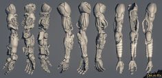 ArtStation - Deus Ex - Mankind Divided Augmentations, KEOS MASONS - Marco…