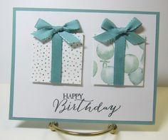 Stampin' Up! Birthday Bouquet DSP