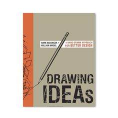 This book focuses on the three key types of drawing, explanatory sketches, notational sketches and visual narratives that help designers think through and communicate their ideas. Through these three fundamentals, Drawing Ideas provides a thorough course in creating clear graphic layouts and diagrams, including expressive human forms, thumbnailing a process, adding effective colour and text and more. In addition, a drawing boot camp provides a refresher course in accurately drawing geometric…