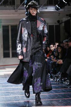 Yohji Yamamoto Menswear Fall Winter 2014 Paris - NOWFASHION