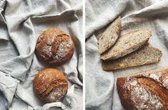 Ořechový chleba z kvasnic | Děvče u plotny Crackers, Bread, Food, Pretzels, Brot, Essen, Baking, Meals, Breads