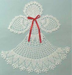 Best 12 Maggie's Crochet · Angel Abriel Doily Crochet Pattern Crochet Angel Pattern, Crochet Angels, Crochet Doily Patterns, Crochet Borders, Thread Crochet, Filet Crochet, Crochet Doilies, Crochet Lace, Crochet Hooks