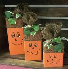 Wood Pumpkins Wooden Pumpkin Decor Home Decorations by MissThangs