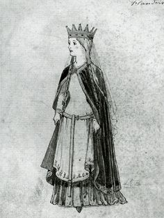 Matilda of Flanders, wife of William the Conqueror c. before 1066 when he won the crown of England!