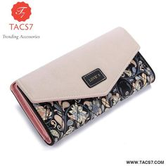 Cheap wallet metal, Buy Quality wallet purse directly from China wallet children Suppliers: 2015 New Fashion Envelope Women Wallet Hit Color Flowers Printing PU Leather Wallet Long Ladies Clutch Coin Purse Bags Travel, Leather Clutch, Pu Leather, Leather Fashion, Wallets For Women Leather, Leather Flowers, Womens Purses, Long Wallet, New Fashion