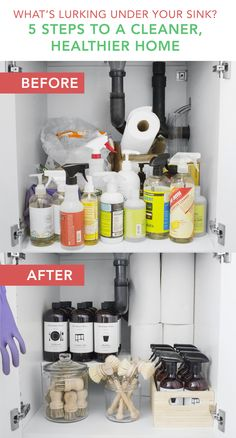 5 Easy steps to a safer, healthier and more organized home. Give yourself a quick and easy upgrade with Murchison-Hume cleaning products and organization accessories.