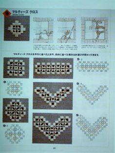 Die 65 Besten Bilder Von Hardanger Muster Embroidery Hardanger
