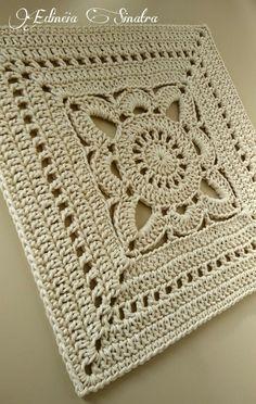 Crochet square thread 10 - My ideas : Crochet s. - Crochet square thread 10 – My ideas : Crochet square - Crochet Blocks, Granny Square Crochet Pattern, Afghan Crochet Patterns, Crochet Squares, Crochet Granny, Crochet Motif, Crochet Stitches, Granny Squares, Free Crochet Square