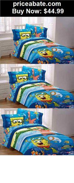 kidsbedding spongebob bed comforter twin bedding boys girls bedroom nickelodeon set room new - Spongebob Bedroom Set