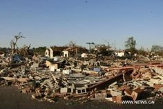 House ruins in Tuscaloosa after the April 2011 tornado that ripped through several states.
