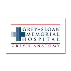 Grey Sloan Memorial Hospital Rectangle Sticker (Rectangle)
