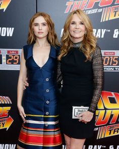 Lea Thompson and her daughter Zoey Deutch look soooooo much alike at 'Back to the Future' anniversary screening.