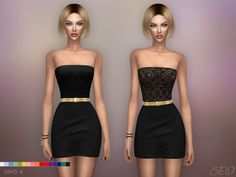 Mila mini dress at BEO Creations • Sims 4 Updates