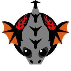 mop.io skin, мопе ио скины, mope.io black dragon Dragon Skin, Black Dragon, New Skin, Geek Stuff, Batman, Sculpture, Superhero, Supreme, Jordans