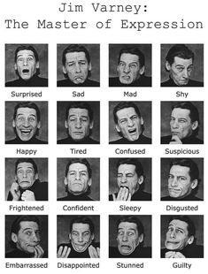 """""""Behind the scenes ian: I've been using Jim Varney for facial expression reference for years, the man had a dang rubber face RIP✌️"""" Acting Lessons, Acting Skills, Acting Tips, Drama Teacher, Drama Class, Drama School, Jim Varney, Acting Exercises, Psychology Facts"""