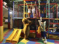 Area para menores y también tengan sus ratos con espacios agradables para jugar!