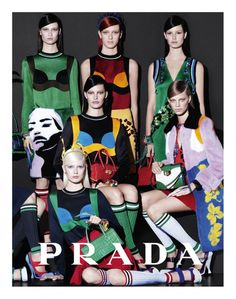 The Colourful Prada Collection | Spring Summer 2014 Campaign