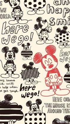Mickey Mouse Wallpaper, Disney Phone Wallpaper, Cartoon Wallpaper Iphone, Cute Cartoon Wallpapers, Mickey Mouse Pictures, Cute Disney Pictures, Mickey Mouse And Friends, Purple Wallpaper Iphone, Iphone Background Wallpaper
