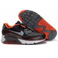 100% authentic 62c8d 96c08 Nike Air Max 1 Black-Orange 325018 021 Nike Air Max 90s, Mens Nike