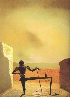 The Ghost of Vermeer - 15 Surrealistic Salvador Dali Paintings  <3 <3