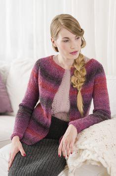 Naisen neulejakku Novita Joki | Novita knits