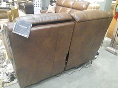Hooker Furniture Living Room Esme Power Motion Sofa w/Pwr Headrest