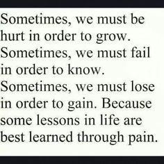 I've always kinda liked pain...lol