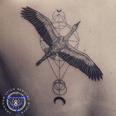 """Résultat de recherche d'images pour """"stork tattoo"""""""