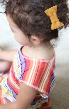 DIY Felt Bows & Bow Ties - Pepper Design Blog-décor for a baby boy baby shower