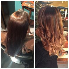 A beautiful Balayage Ombre done by Caitlyn!