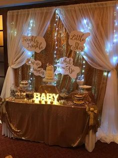 Delightful Twinkle Twinkle Little Star Baby Shower Party Ideas