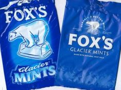 Fox's Glacier Mints - always at Grannie's house