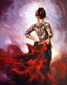 Dancing woman (Mark Spain)