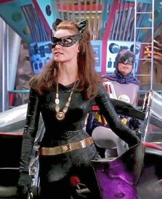 Sexy Julie Newmar as Catwoman in the Batcave Batman 1966, Batman And Catwoman, Batman And Superman, Batman Robin, Catwoman Comic, Batman Tv Show, Batman Tv Series, Original Catwoman, Original Batmobile