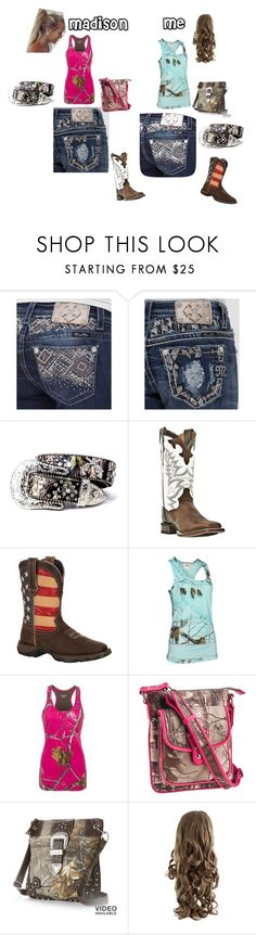 Madison & Me! Best Friends! by gigglynoelle6 on Polyvore featuring interior, interiors, interior design, home, home decor, interior decorating, Realtree, Miss Me, Durango and Emperia