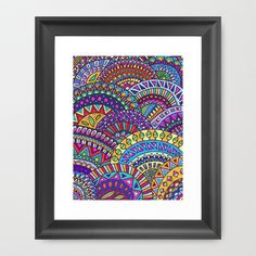 Fancy Dancer Framed Art Print by Erin Jordan - $38.00