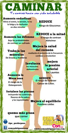 Caminar trae muchos beneficios! All Body Workout, Fitness Workout For Women, Yoga Fitness, Health Fitness, Fun Workouts, At Home Workouts, Medicine Notes, Muscle Power, Beautiful Yoga