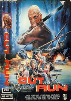 Cut and run (1985) Horror/Action***
