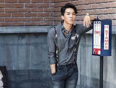 Song Minho of 'WINNER' for the 2014 F/W collection for NII Korea.