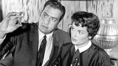 Barbara Hale, who played the steadfast secretary Della Street opposite Raymond Burr on the legendary courtroom drama Perry Mason for nine seasons and 30 telefilms died on Jan. 26. She was 94. Hale made more than 50 films before landing her signature role. Hale received two Emmy nominations (winning in 1959) for playing the quiet beauty who was the rock of stability on Mason's team. She liked the fact that Della was unmarried and without kids so it wouldn't confuse her real-l...